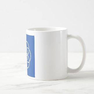 Planet earth flag basic white mug