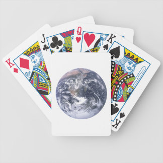Planet Earth From Space Earth Day Bicycle Playing Cards