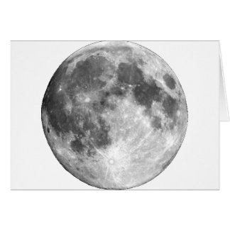 PLANET EARTH'S MOON (solar system) ~.png Greeting Card