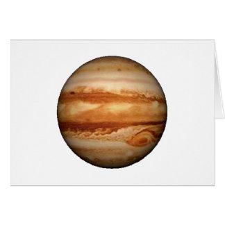 PLANET JUPITER v.3 (solar system) ~~.png Greeting Card