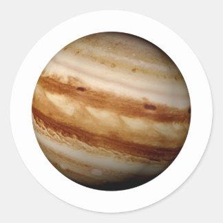 PLANET JUPITER v.4 (solar system) ~ Classic Round Sticker