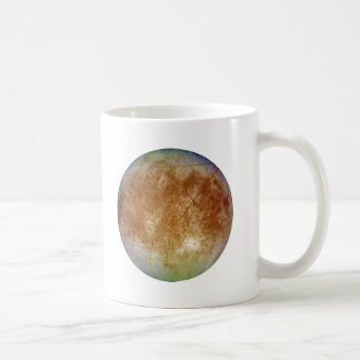 PLANET JUPITER'S MOON EUROPA (solar system) ~ Coffee Mug