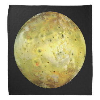PLANET JUPITER'S MOON IO true colour (solar Bandana