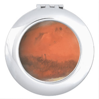 PLANET MARS true color natural (solar system) ~ Vanity Mirror