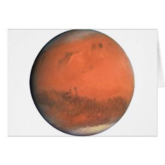 PLANET MARS true color natural (solar system) ~.pn Card