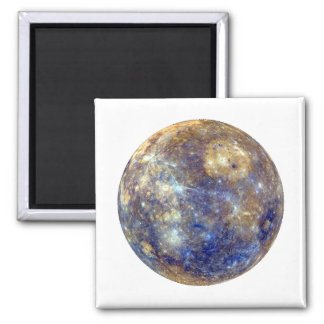 PLANET MERCURY v2 (solar system) ~~ Square Magnet