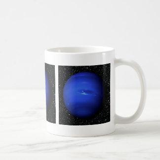 PLANET NEPTUNE Star Background 2 (solar system) ~. Basic White Mug