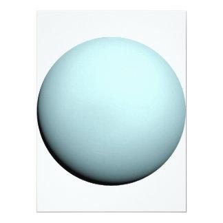 PLANET NEPTUNE v.2 (solar system) ~ 17 Cm X 22 Cm Invitation Card