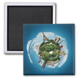 Planet Paris magnet