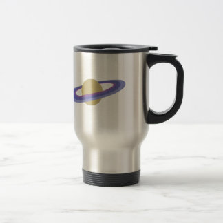 Planet Saturn Stainless Steel Travel Mug