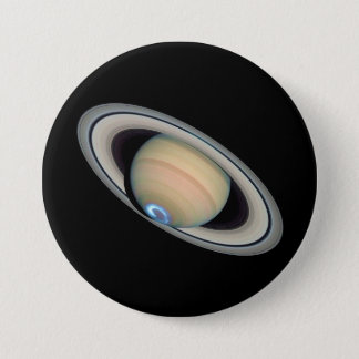 PLANET SATURN (solar system) ~ 7.5 Cm Round Badge