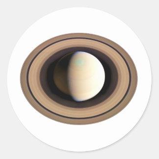 PLANET SATURN v.2 (solar system) ~~ Classic Round Sticker