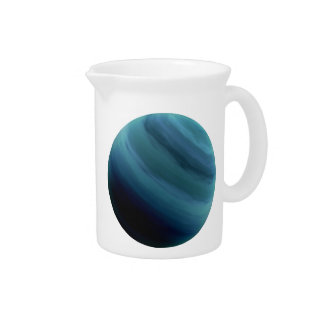 PLANET URANUS (solar system) ~.png Drink Pitcher