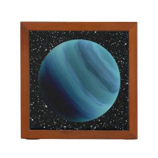 PLANET URANUS star background (solar system) ~~ Desk Organiser