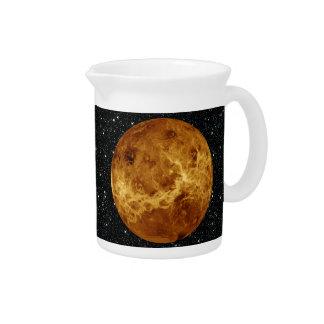 PLANET VENUS RADAR VERSION (solar system) ~~.png Beverage Pitchers