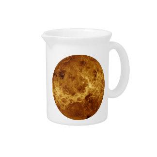 PLANET VENUS RADAR VERSION (solar system) ~.png Drink Pitchers