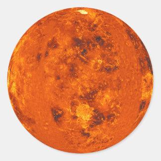 PLANET VENUS (solar system) ~ Round Sticker