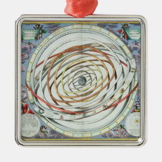 Planetary orbits christmas ornament