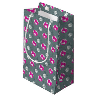 Planetary wrapping small gift bag