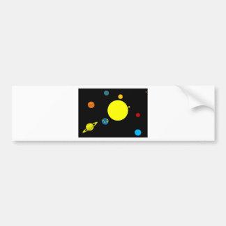 Planets Bumper Sticker
