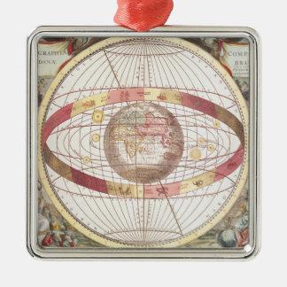 Planisphere, from 'Atlas Coelestis' Christmas Ornament