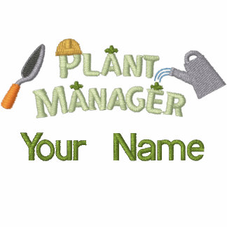 Plant Manager 2 Embroidered Polo Shirt