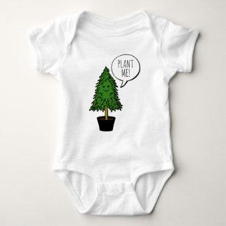 Plant more trees baby bodysuit