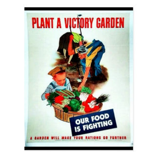 Planta Victory Garden Postcard