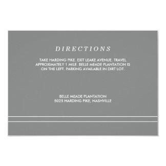 Plantation Enclosure Card - Aqua