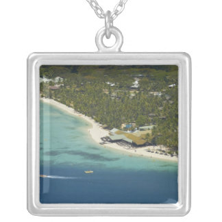 Plantation Island Resort, Malolo Lailai Island 2 Silver Plated Necklace