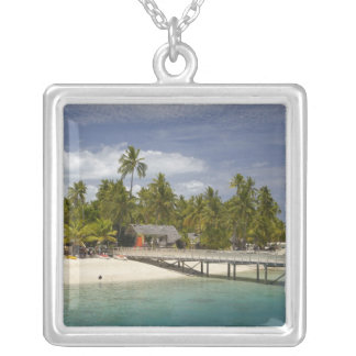 Plantation Island Resort, Malolo Lailai Island 3 Silver Plated Necklace