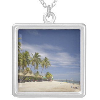 Plantation Island Resort, Malolo Lailai Island 4 Silver Plated Necklace