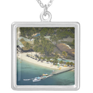 Plantation Island Resort, Malolo Lailai Island Silver Plated Necklace