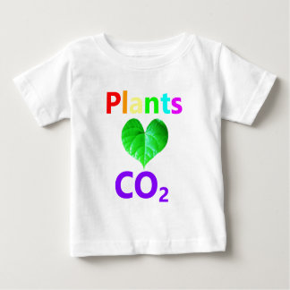 Plants Love CO2 Baby T-Shirt
