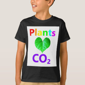 Plants Love CO2 T-Shirt