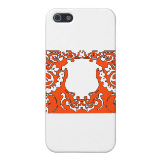 Plaque Orange transp The MUSEUM Zazzle Gifts Covers For iPhone 5