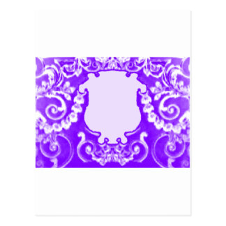 Plaque Purple White The MUSEUM Zazzle Gifts Post Card