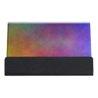 Plasma 17 desk business card holder