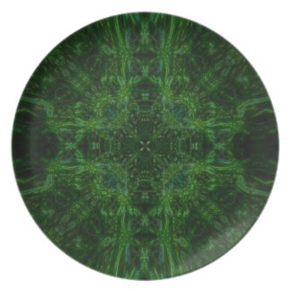 "Plate 2 ""Forest-In-Wind"" Mandala"