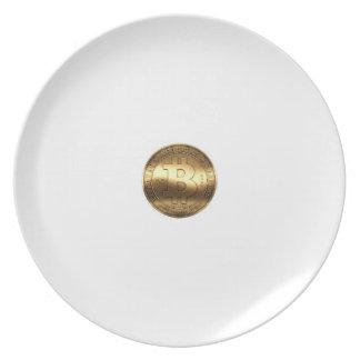 Plate bitcoin