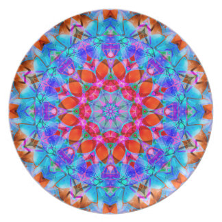 Plate kaleidoscope Diamond Flower G408