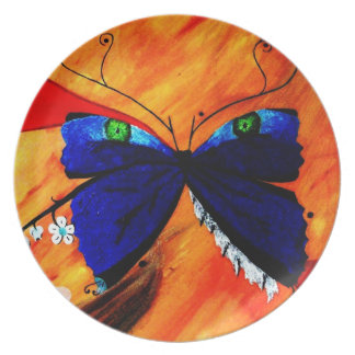 Plate - Mystic Butterfly