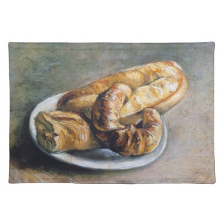 Plate with Bread by Vincent Van Gogh Placemat