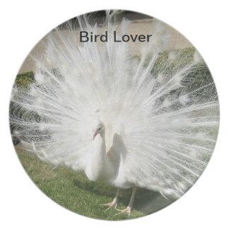 Plates/Peacock/Birds Dinner Plates