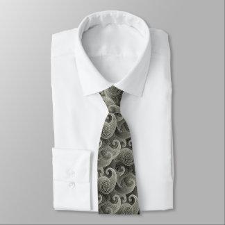 Platinum Paisley Timeless Pattern Tie