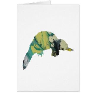 Platypus art card