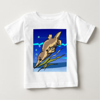 Platypus Diver Baby T-Shirt