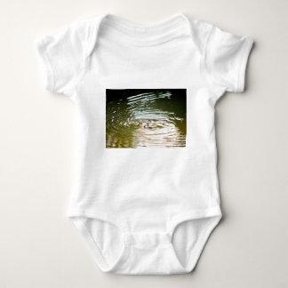 PLATYPUS IN WATER EUNGELLA AUSTRALIA BABY BODYSUIT