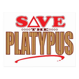 Platypus Save Postcard