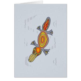 Platypus Splash Card